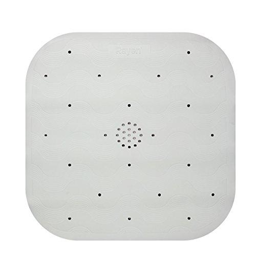 Rayen 2333.11 Duschmatte, rutschfest, color blanco, 45 x 45 cm, weiβ
